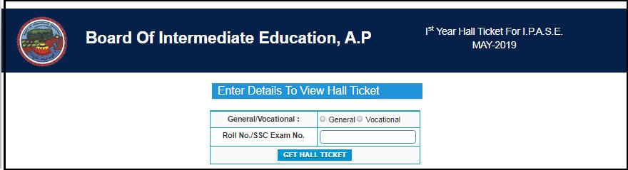 AP inter practicals hall tickets step 4