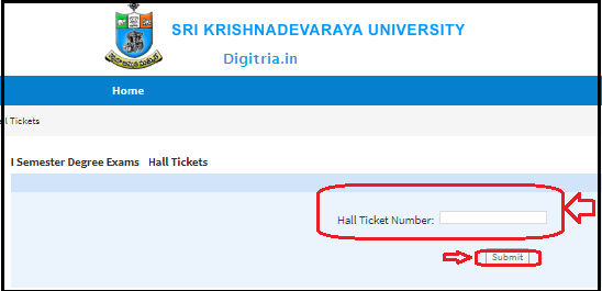 Download Degree Hall Tickets 2020 Download Sk University PNG