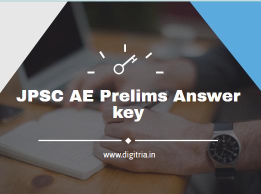 JPSC AE Prelims Answer key