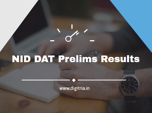 NID DAT Prelims Results 2020-2021