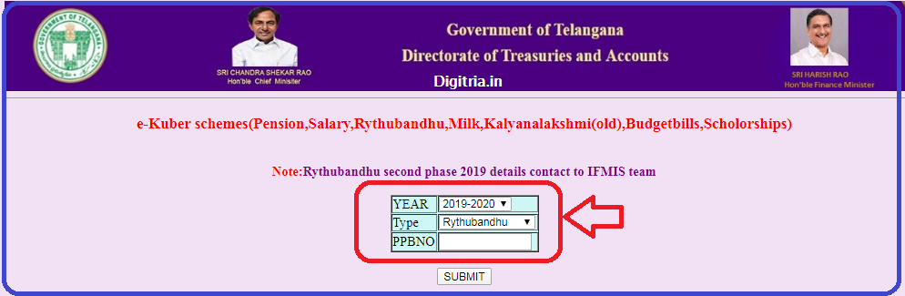 Rythu Bandhu Status page 2
