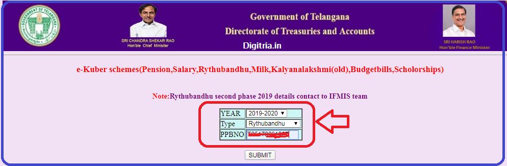 Rythu Bandhu Status page 3