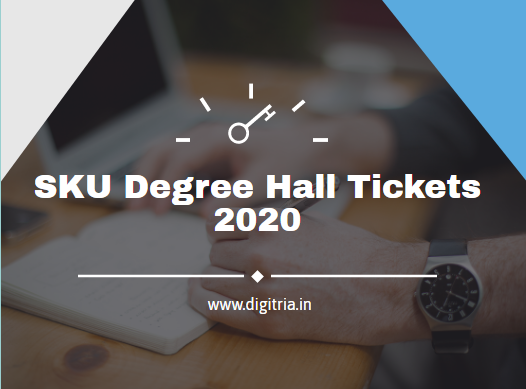 SKU Degree Hall Tickets