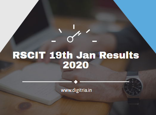 RSCIT 19th Jan Results
