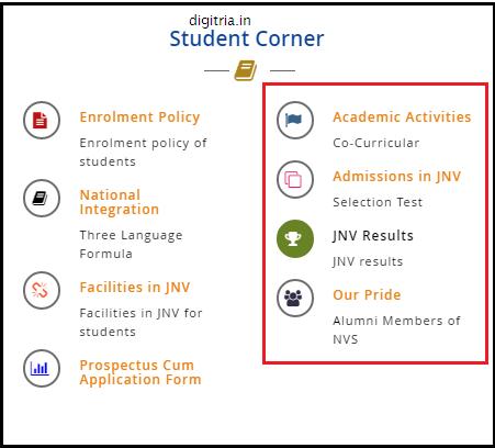 JNVST Class 6th Answer key step2