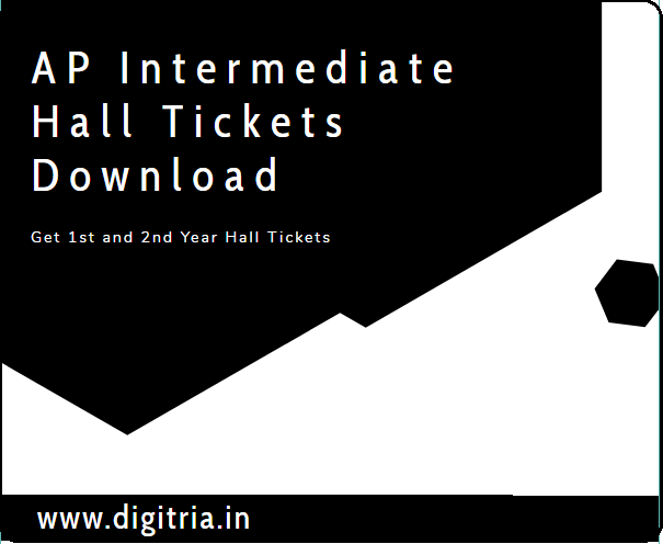 AP Intermediate Hall Tickets