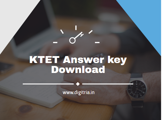 KTET Answer key 2020