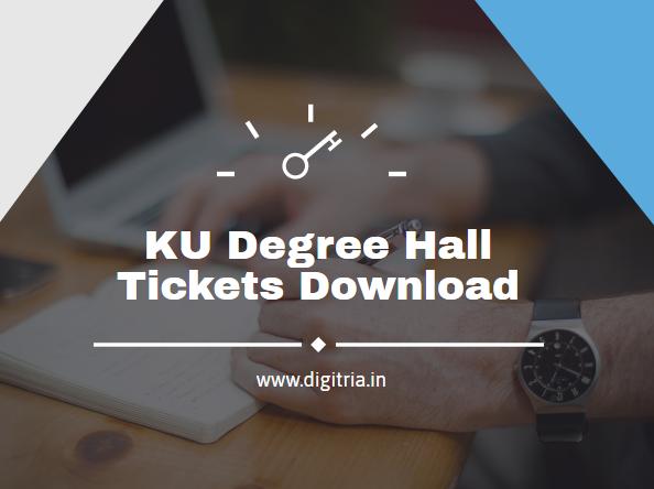 KU Degree Hall Tickets 2020