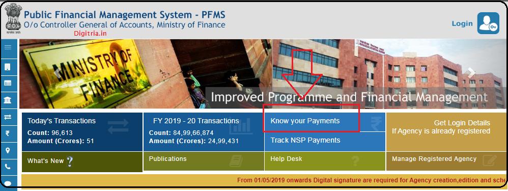 PFMS.nic.in