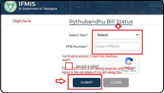 Rythubandhu Scheme Rabi Details: