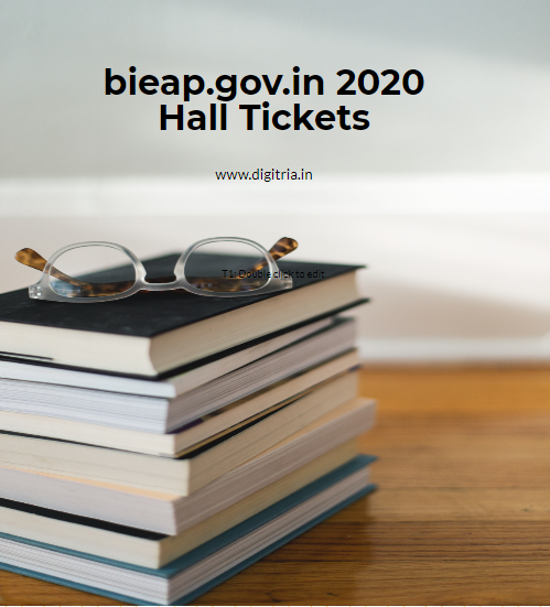 bieap.gov.in 2020 Hall Tickets