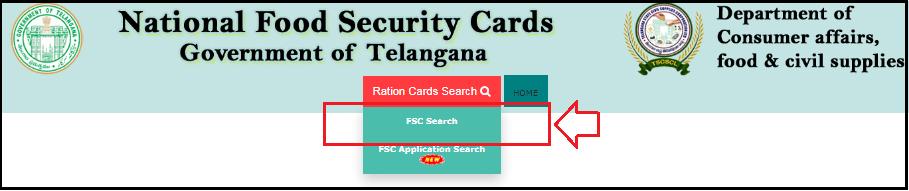 Click on FSC Search