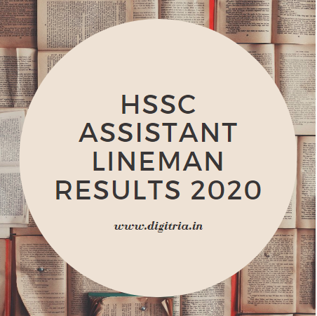 HSSC Assistant Lineman Results