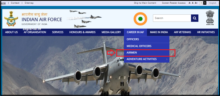 Indian Air Force Airman Section