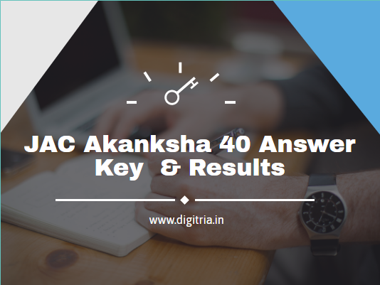 JAC Akanksha 40 Answer Key 2020