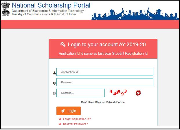NSP scholarship status