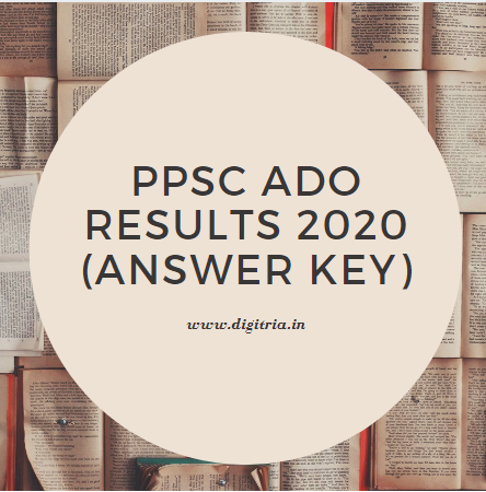 PPSC ADO Results 2020