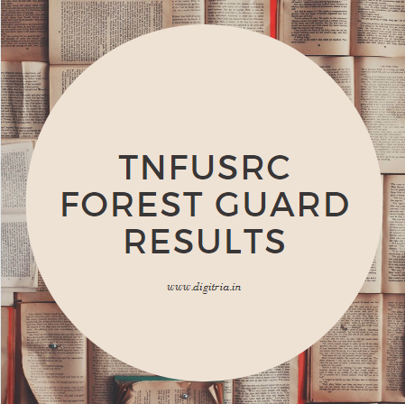 TNFUSRC Forest Guard Results