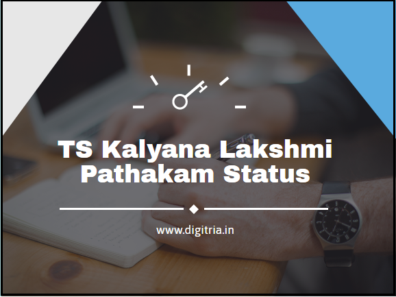 TS Kalyana Lakshmi Pathakam Status Image
