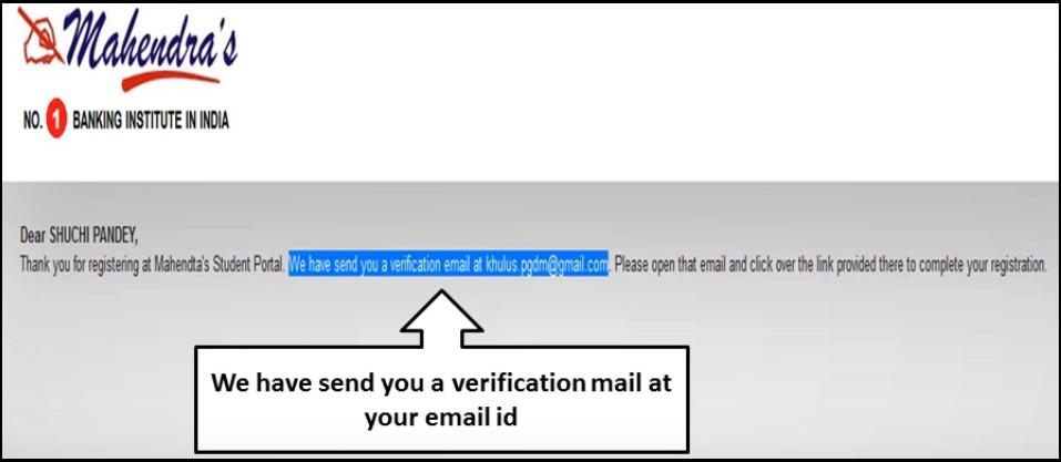 Mahendra Guru ST Portal 2020   email Verification