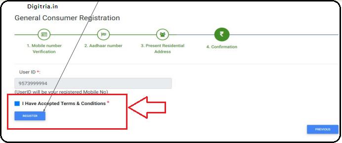 AP Sand Booking Registration of Click on register