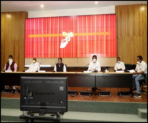 CM Press meet about Jharkhand Corona Sahayata App
