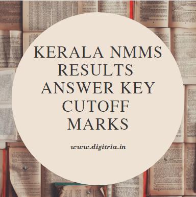 Kerala NMMS Results 2020