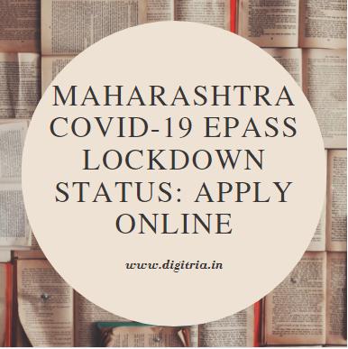 Maharashtra COVID-19 ePass