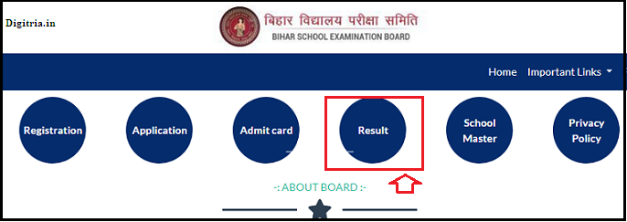 BSEB result page