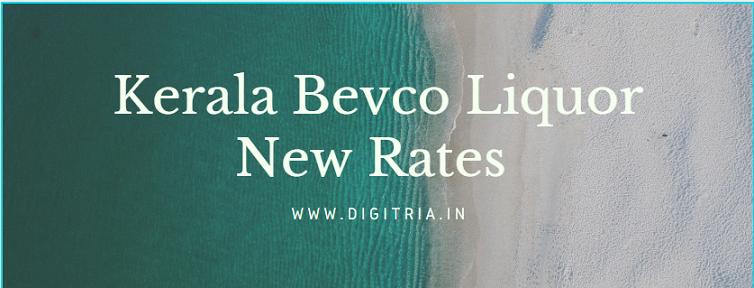 Kerala Bevco Liquor Rates