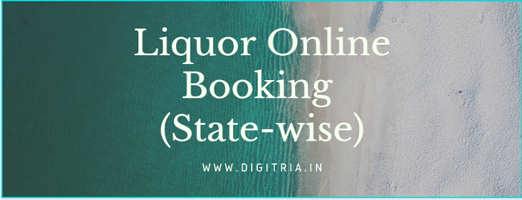 Liquor Online Booking Apply link & apps (State-wise) e-Token