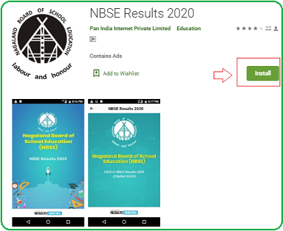 NBSE Results app