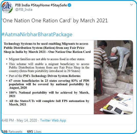 Aatma Nirbhar Bharat Scheme