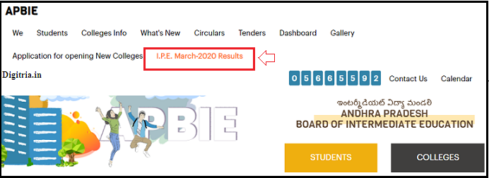 Click on IPE March 2020 results