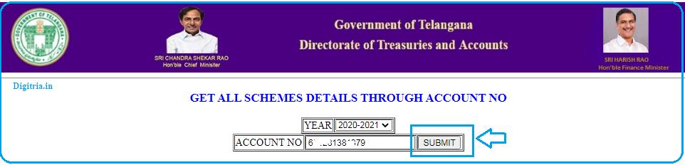 check TS Rythu Bandhu 2020 Kharif Status