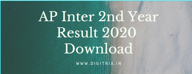 Sakshi Inter 2nd Year Result 2020
