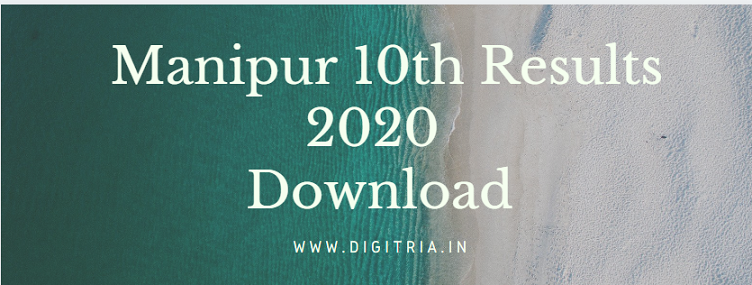 Manipur 10th Results 2020 HSLC
