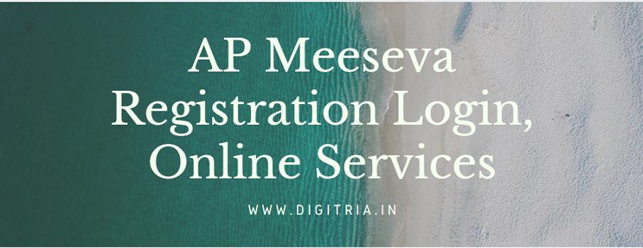 AP Meeseva Registration