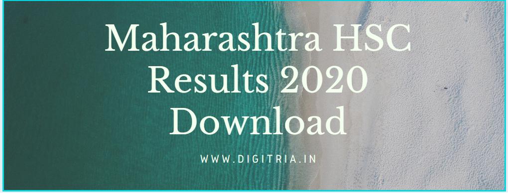 Maha HSC Result 2020