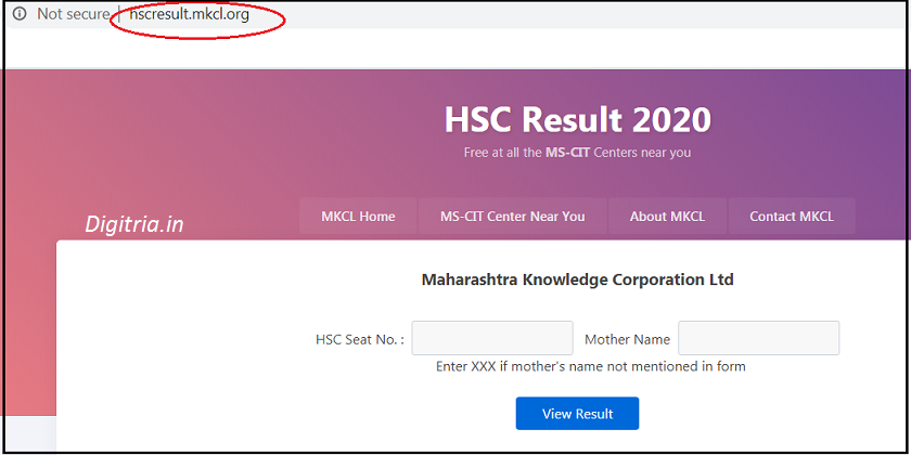 Open the site of HSC