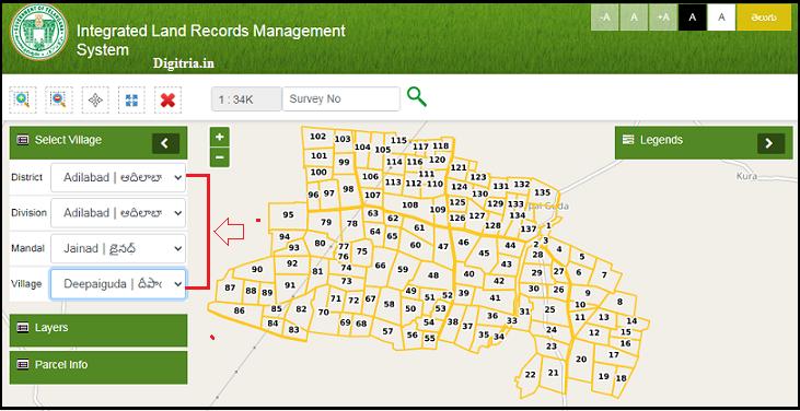 Select areas of Maa Bhoomi Telangana