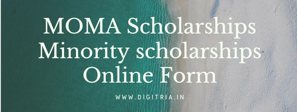 MOMA Scholarships