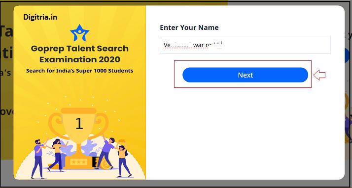 Enter name