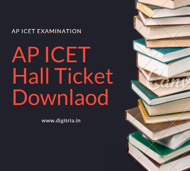 AP ICET Halltickets download