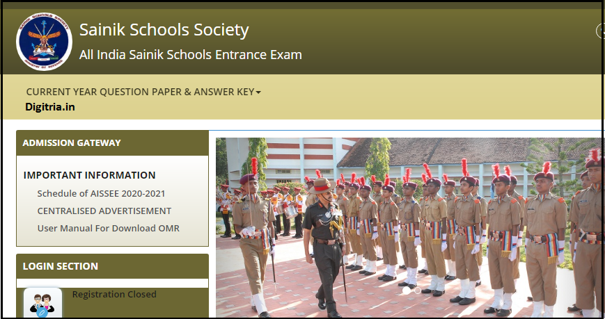 Sainik School page