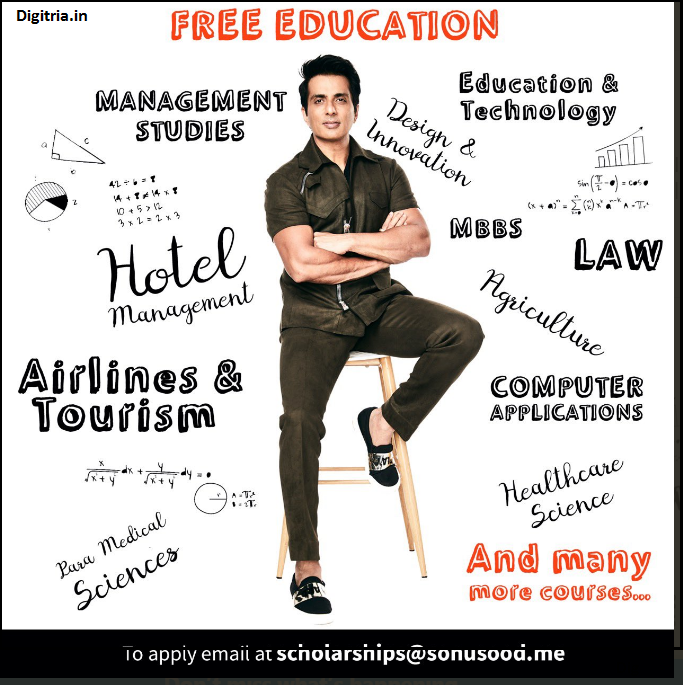 Sonu Sood Scholarship Courses