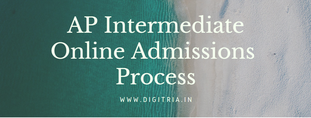 AP Inter Online Admission