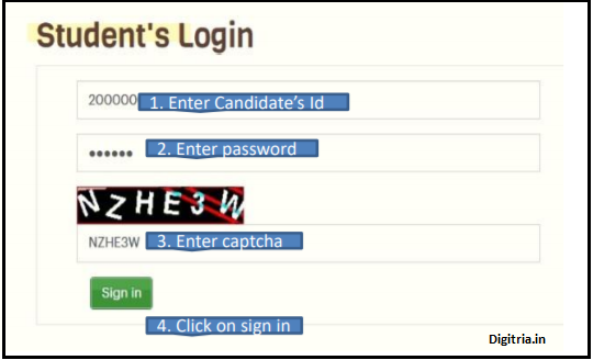 students login