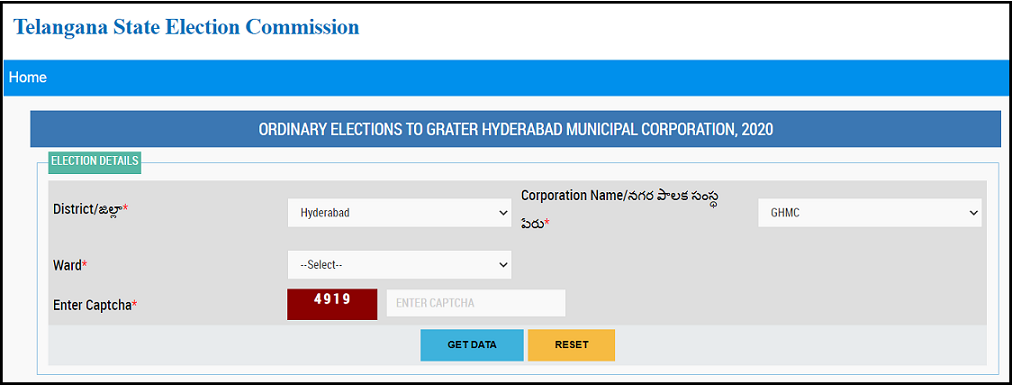 Check Election details