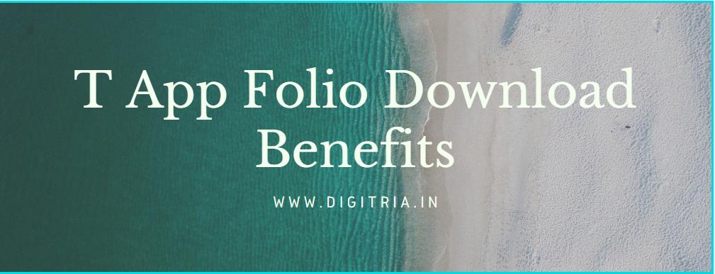 T App Folio Benefits